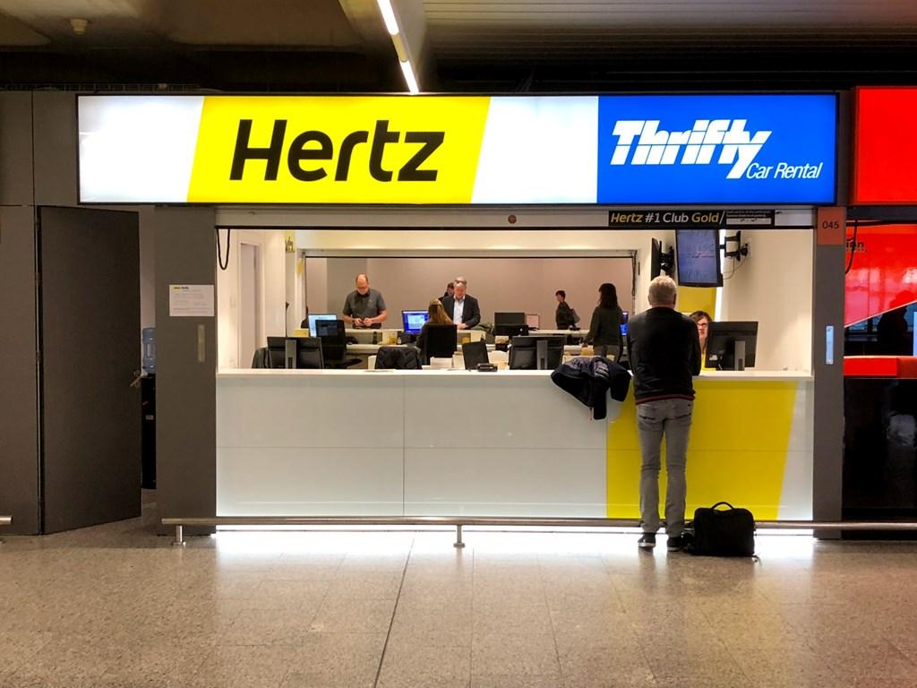 hertz car rental at mallorca airport (pmi)